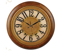 Old Style Vintage Decorative Digital Prayer Time Wall Clock