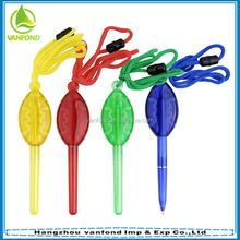 Promotional customized cute lollipop hanging pens
