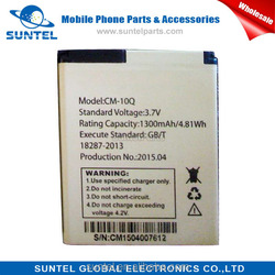 Hot sell in Philippians Li-ion mobile phone battery for cherry mobile CM-10Q