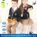 negro camisetas de uniforme escolar para niños y niñas