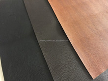 embossed design pu synthetic leather printed materials