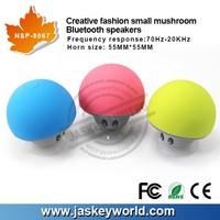 Best creative mobile stents mushroom portable bluetooth speaker professional speaker