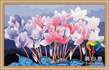 lotus flower decoration 50*80 cm natural scenery wall picture