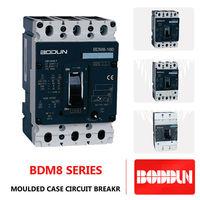 BDM8 3P 4P 160A 100A 250A 400A mccb circuit breaker