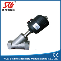 Professional Plastic double angle seat valve with great price