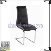 2015 new kind of chrome dining chair in European taste