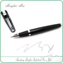 2015 Gentleman Elegant black ball pen, good present pen for women
