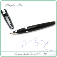 Gentleman Elegant black ball pen, good present pen for women