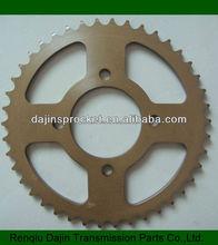 Dajin 1045 motorcycle part go kart 200cc/motorcycle parts chain sprocket/motorcycle spare parts for honda