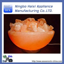 Contemporary low price himalayan rock salt lamp in india