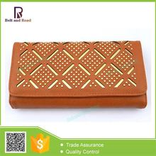 Factory in China Variety new designs women wallet leather products