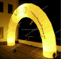 2015 Promotional and good advertising effect inflatable event arch