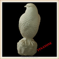 Marble carving eagle statue