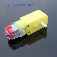 1:48 TT Shaft DC Gear Motor 6V For Smart Car