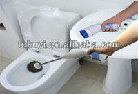 Electric toilet cleaner, electric toilet brush, electric toilet cleaning brush