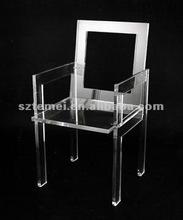 traditional clear acrylic dining chair or acrylic chair