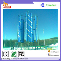 New Energy On-grid 5 Blades Vertical shaft 1mw Wind Turbine