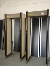 Multi-zones a prueba de agua y alta tecnología Detector de marco de la puerta de drogas Detector