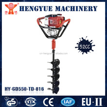 one man earth auger drill with CE approved for garden digging hole
