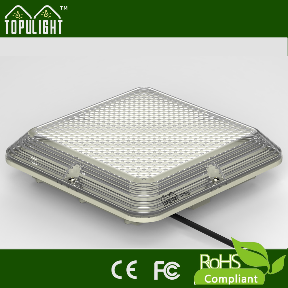 Square Shape Hanging Led Ceiling Light Used For Cupboards