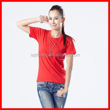 Women fitted blank t-shirts