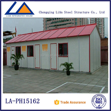 Stable Short Construction Period One Bedroom Prefab House