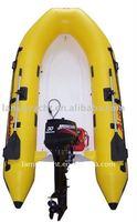 CE inflatable fiberglass boat LY-330