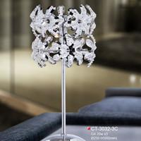 fixture polyresin table lamp tulip