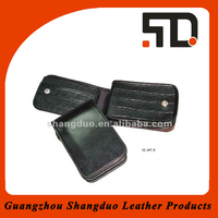 Gold Supplier Trade Assurance Customizable Leather Phone Case for Direct Sale