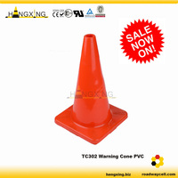 TC302 Warning Soft PVC Orange Cone