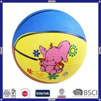 made in china cheap price soft rubber basketball