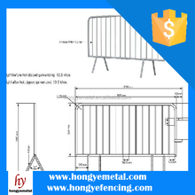 High Quality Galvanized Temporary Wood Fencing