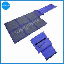 Folding mono solar charger, 120v solar panel