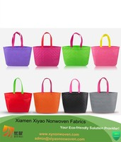 Non woven gift travelling girls shoppers bag