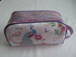 new pattern tote cosmetic bag