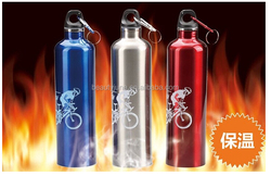 750ml Double Wall Vacuum Insulated 18/8 Stainless Steel Water Bottle Sport,stainless steel vacuum flask