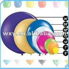 2014 Round advertising nature Latex Balloon Every Size Available/standard balloon