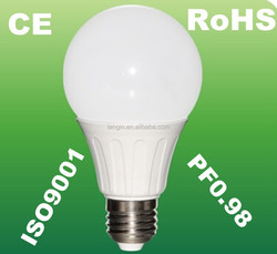 PF0.98 quality lamp style energy saving e27 7w lampada led