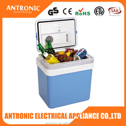 Antronic ATC-24 GS/CE/ROHS cheap color custom fruit/vegetable/drink 24 litres cooler box mini refrigerator