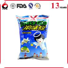 potato chips snack food packaging bag for various tasty