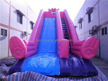 yard inflatable slide, ZY-DS602 top quality tree inflatable slide