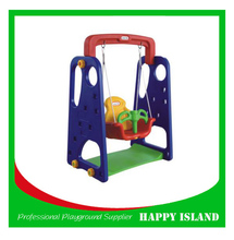 2015 New Funny Plastic Toys Marked For Kids Purple Swing Sets Garden Swing Chair