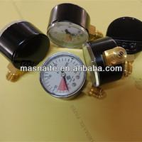 china manufactur supply air compressor pressure gauge