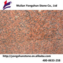 Professianl granite factory cheap granite tile red floor of superior quality