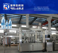 2015 China Washing Filling Capping Mineral Water Plant Cost