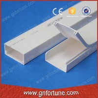 Full Size PVC Trunking Plastic Wiring Duct Supplier