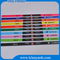 Wholesale cheap customizd wristbands for festival
