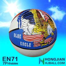 all size rubber basketball ball