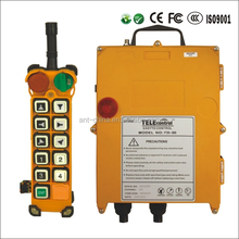 Hoist 24v DC Motor Remote Control F24-10S TELEcontrol Industrial Wireless Radio Remote Controls