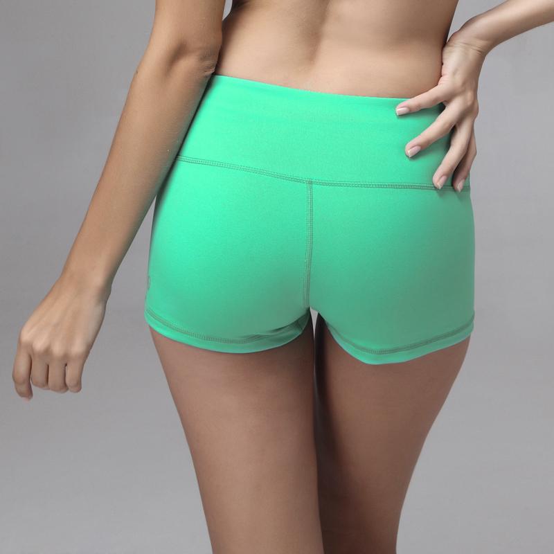Women in sexy nylon shorts